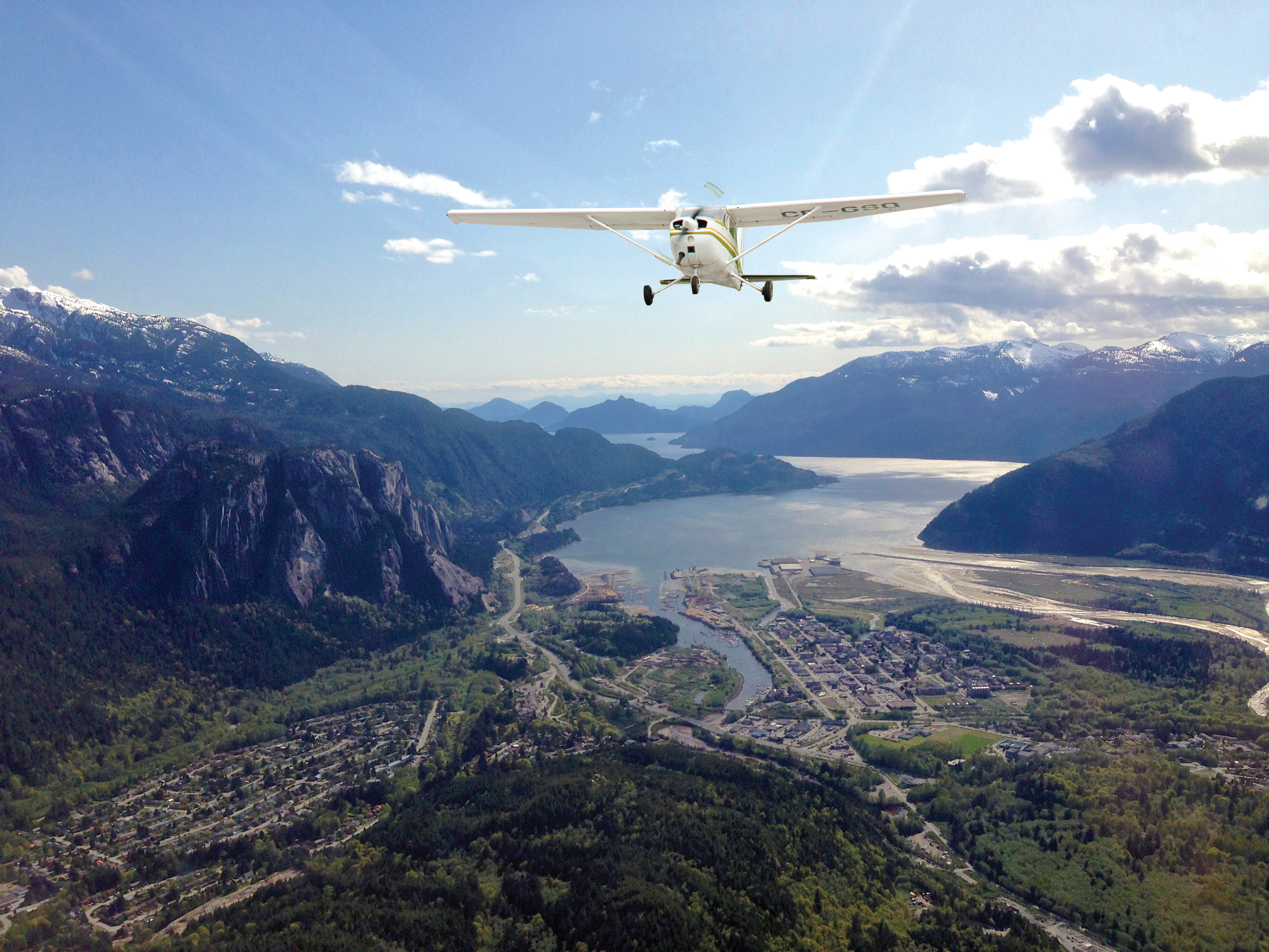 Flight Over Squamish